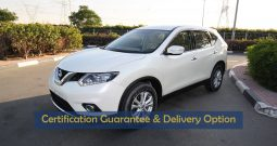 Certified Vehicle with Delivery option ; XTRAIL(GCC SPECS) for sale with warranty(Code : 01876)