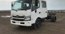 Hino 714, 4.1 Ton (Approx.) Double Cab Chassis,with Turbo & ABS 2018, 0 km(Vehicle Code : HD714C8)