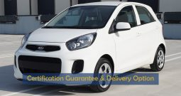 Certified Vehicle with Delivery option; PICANTO(GCC Specs) for sale with warranty(Code : 13996)