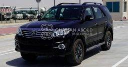 Certified Vehicle with Delivery option, Fortuner,Black edition(GCC Specs) in Good Condition with Warranty.(Code : 44331)
