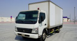 Mitsubishi Fuso 4.2CC. S/C. BOX WITH TAIL LIFT (Vehicle Code : 08074)
