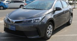 Certified Vehicle with Warranty; Corolla 1.6cc SE (GCC Specs)for sale with warranty(Code :  33250)