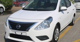 CERTIFIED VEHICLE WITH WARRANTY: NISSAN SUNNY SV, 1.5cc, CHROME HANDLE(GCC SPECS)FOR SALE(CODE : 21867)