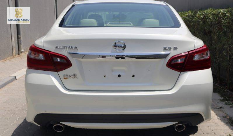 Certified Vehicle with warranty; Nissan Altima S 2.5L(GCC SPECS) for sale(7832) full