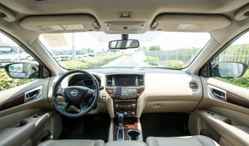 Certified Vehicle with warranty; Nissan Pathfinder 3.5L SV With Sunroof, leather Seats (GCC Spec) for sale( code : 00621) full
