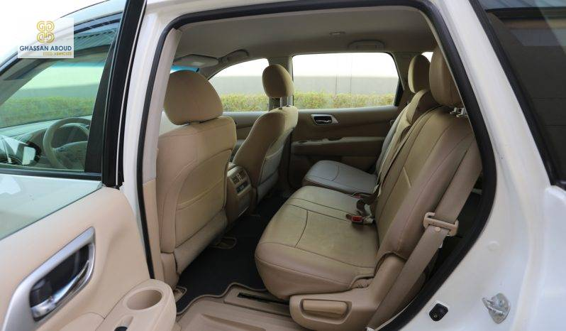 Certified Vehicle with warranty; Nissan Pathfinder S 3.5L 4WD (GCC Spec) for sale( code : 25466) full